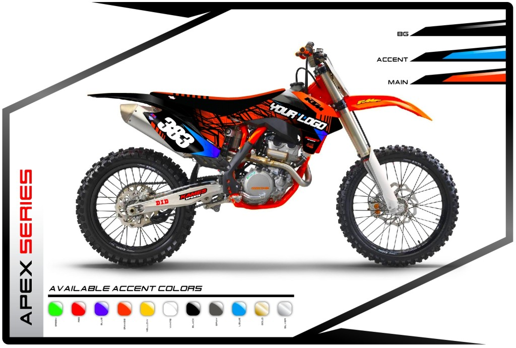 Apex Series KTM - Motocross Graphics