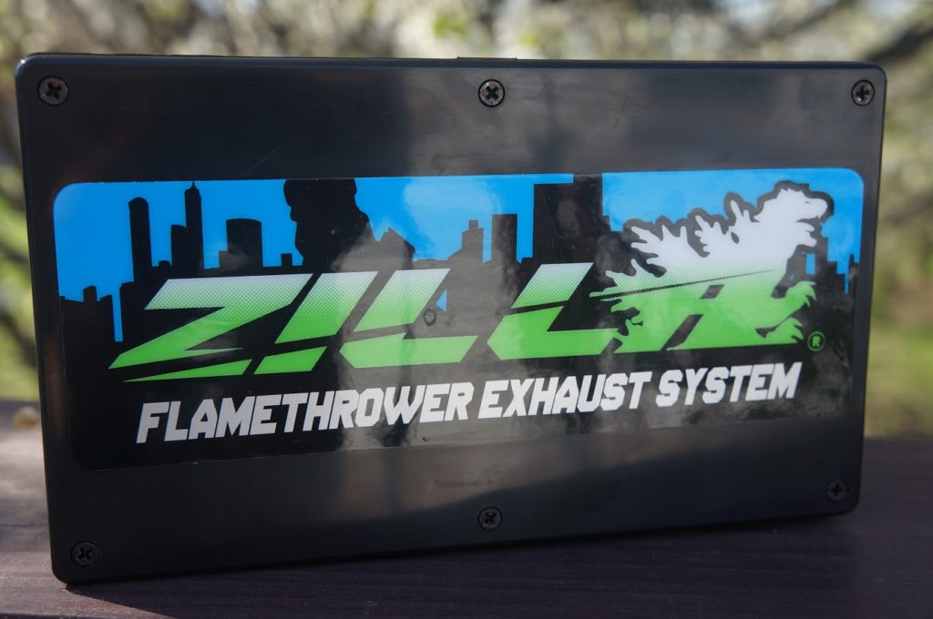 Zilla Flame Thower Exhaust Kit #