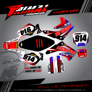 CR 85 MX GRAPHICS PRIMAL X MOTORSPORTS BIKELIFE MX DECALS MOTOCROSS
