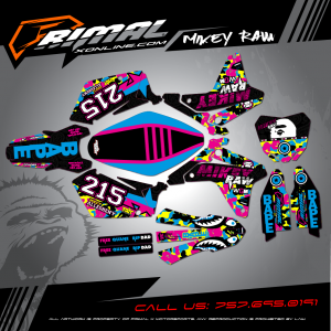 Primal X Motorsports - MX Graphics - 2006 RMZ250  bikelife Motocross Graphics PRIMAL X MX GRAPHICS