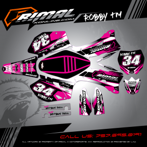 Primal X Motorsports - MX Graphics - 2006 yzf250 RETRO GRAPHICS bikelife Motocross Graphics PRIMAL X MX GRAPHICS