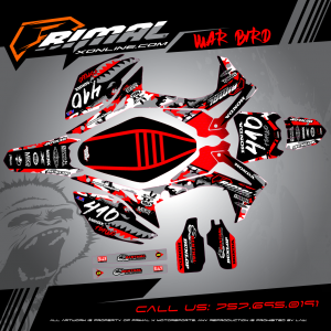 Primal X Motorsports - MX Graphics - 2016 CRF450R CRF250R GRAPHICS bikelife Motocross Graphics PRIMAL X MX GRAPHICS CUSTOM
