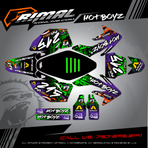 Primal X Motorsports - MX Graphics - 209 CRF250 bikelife phillybikelife mxdecals