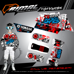 Primal X Motorsports - MX Graphics - BANSHEE 350 GRAPHICS bikelife Motocross Graphics PRIMAL X MX GRAPHICS CUSTOM MX JERSEY