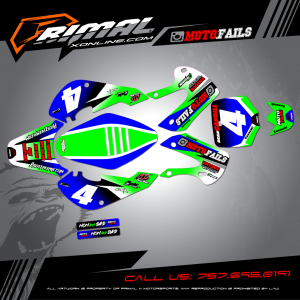 Primal X Motorsports - MX Graphics - KLX110  moto.fails GRAPHICS bikelife Motocross Graphics PRIMAL X MX GRAPHICS