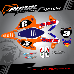 Primal X Motorsports - MX Graphics - KTM  GRAPHICS bikelife Motocross Graphics PRIMAL X MX GRAPHICS LUCAS OIL