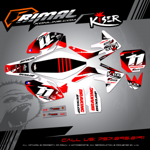 Primal X Motorsports - MX Graphics - crf 150  GRAPHICS bikelife Motocross Graphics PRIMAL X MX GRAPHICS