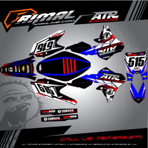 Primal X Motorsports - MX Graphics - yzf450 GRAPHICS bikelife Motocross Graphics PRIMAL X MX GRAPHICS