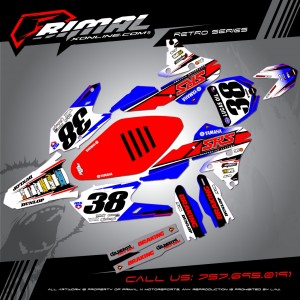 RETRO YZF450 Series MX Graphics Primal X Motorsports