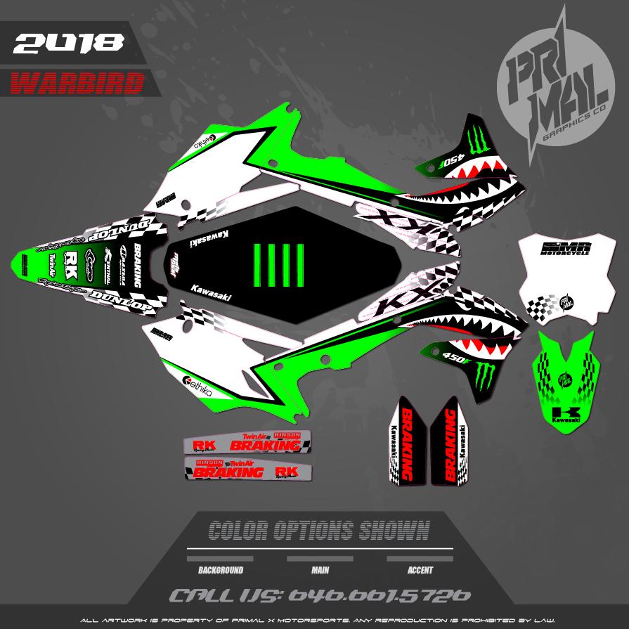 KAWASAKI KX250F MX GRAPHICS MOTOCROSS GRAPHICS ATV MX GRAPHICS PRIMAL X MOTORSPORTS MR MOTORCYCLE