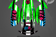 CUSTOM MOTOCROSS GRAPHICS ATV MX GRAPHICS PRIMAL X MOTORSPORTS CUSTOM BIKE LIFE