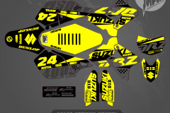 DRZ400SM CUSTOM MOTOCROSS GRAPHICS ATV MX GRAPHICS PRIMAL X MOTORSPORTS CUSTOM STRIKER NICKY