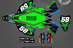KAWASAKI KX250F KX450F RAMPAGE MX GRAPHICS MOTOCROSS GRAPHICS ATV MX GRAPHICS PRIMAL X MOTORSPORTS
