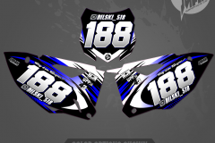 KAWASAKI SERIES GRAPHICS MOTOCROSS GRAPHICS ATV MX GRAPHICS PRIMAL X MOTORSPORTS NUMBERPLATES