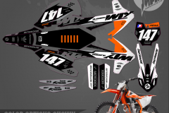 PRIMAL GRAPHICS CO KTM SXF2018 MOTOCROSS GRAPHICS ATV MX GRAPHICS PRIMAL X MOTORSPORTS PRIMAL GFX CO BIKELIFE