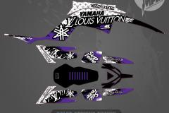 YAMAHA RAPTOR GRAPHICS MOTOCROSS GRAPHICS ATV MX GRAPHICS PRIMAL X MOTORSPORTS SHRED