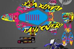 YAMAHA YZ125 YZ250 DCBIKELIFE  MACS MAL PRIMAL X MOTORSPORTS CUSTOM MOTOCROSS GRAPHICS MX GRAPHICS