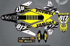 YAMAHA YZ250F YZ450F STRIKER SERIES MX GRAPHICS MOTOCROSS GRAPHICS ATV MX GRAPHICS PRIMAL X MOTORSPORTS BIKELIFE
