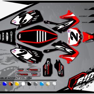 SPARTAN HONDA | Primal X Motorsports | Motocross Graphics | ATV