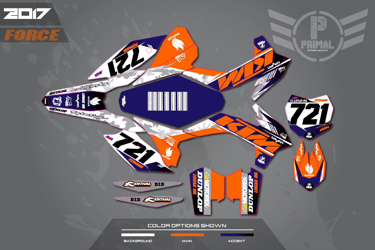 Ktm Atv Race Graphics