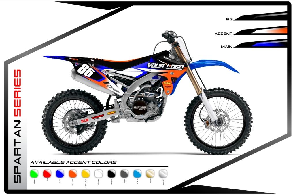 Primal X Motorsports MX Graphics Yamaha Spartan Series