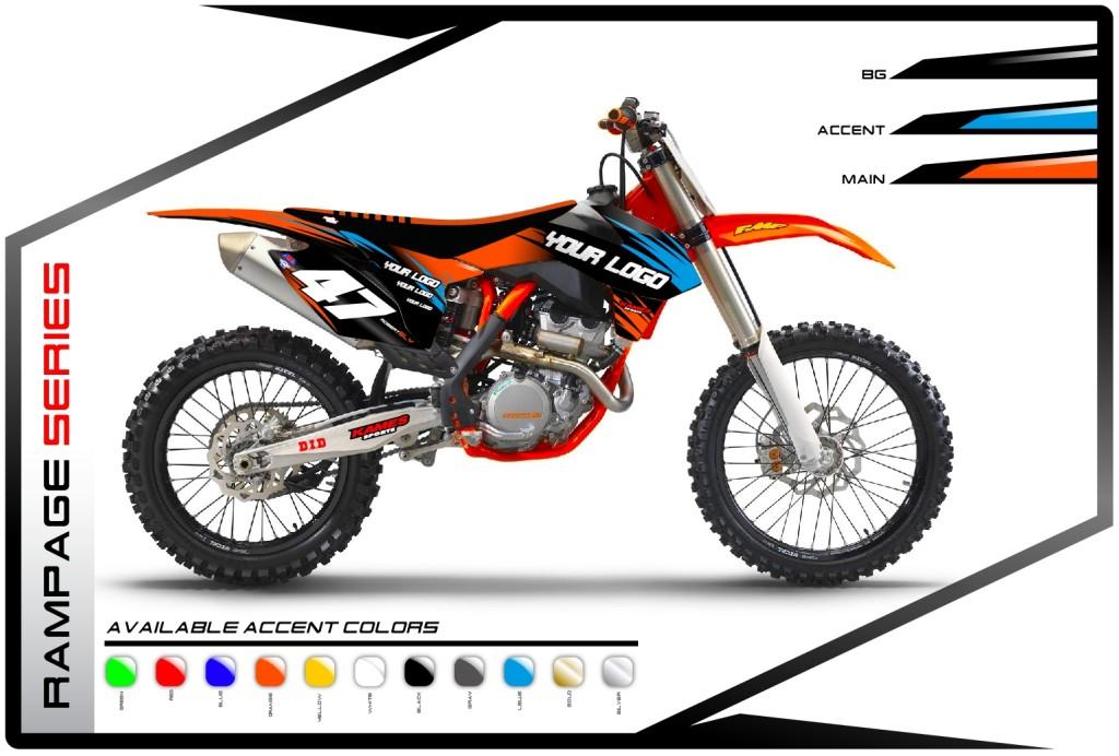 Rampage Series KTM - Motocross Graphics