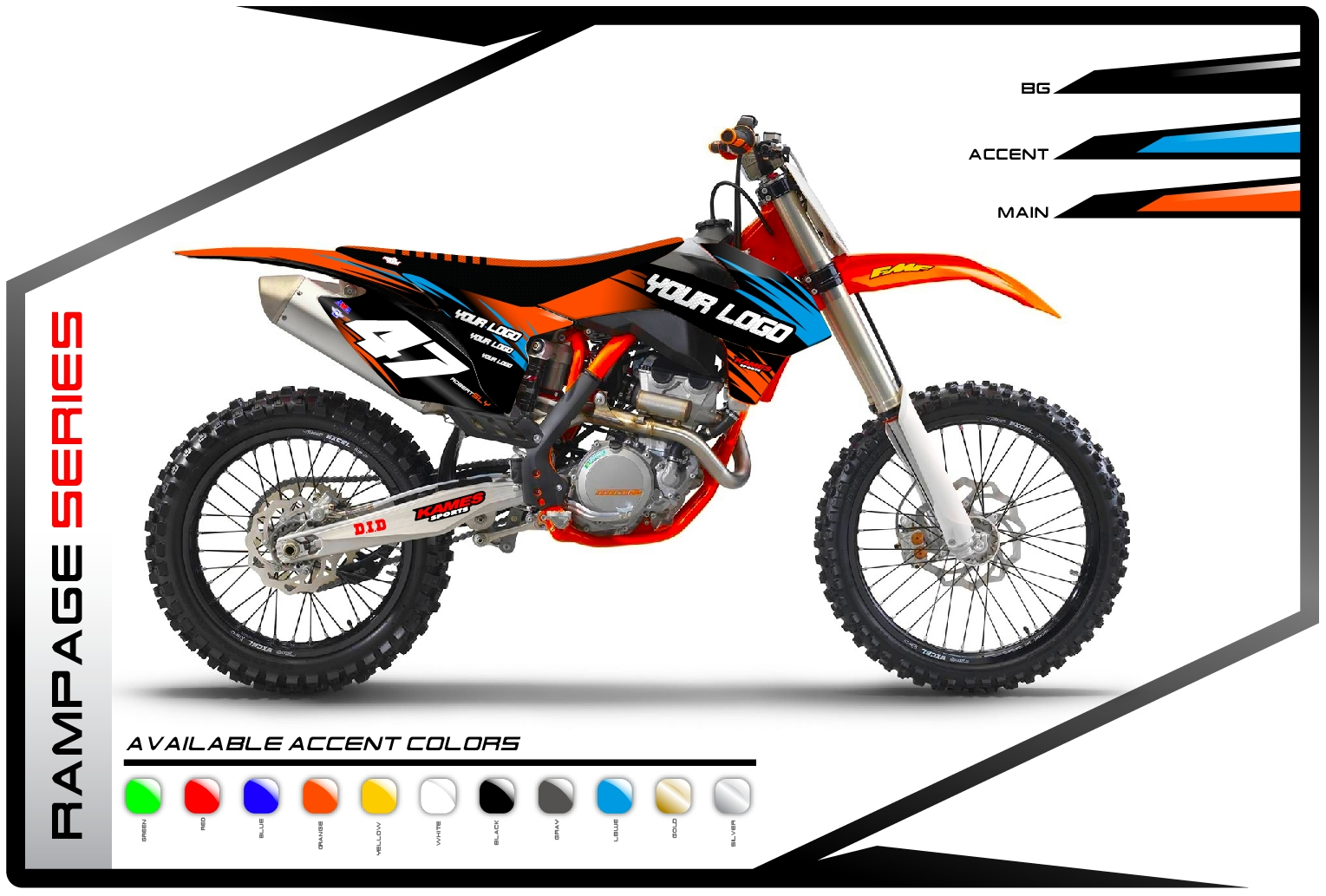 Rampage Series KTM - Motocross Graphics