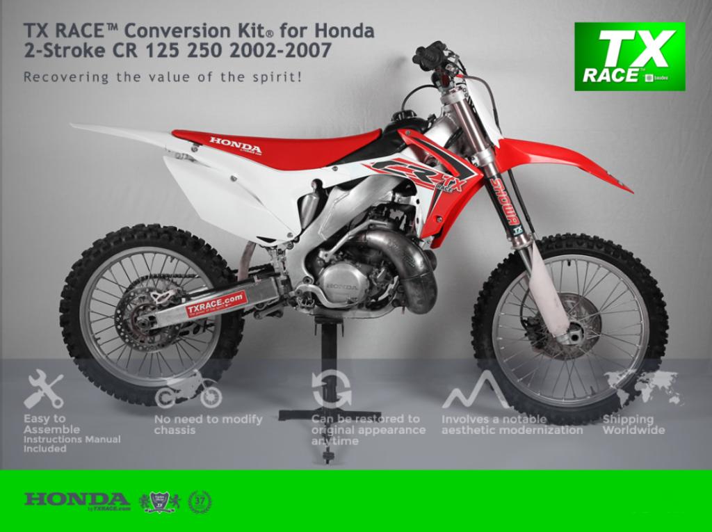 CR Conversion Kit _ Primal X Motorsports _ CR to CRF 2