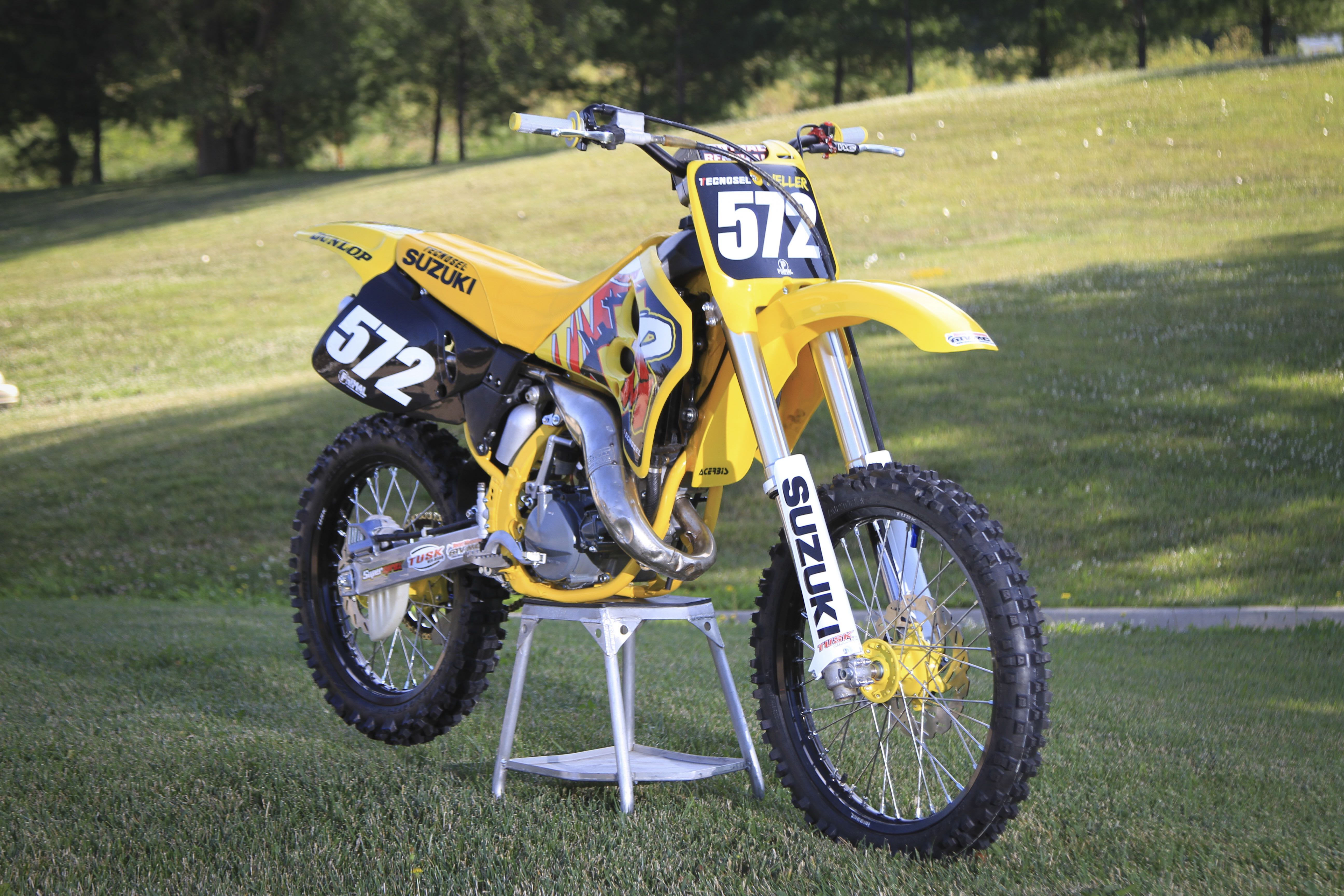 matt wellers1994 suzuki rm125 project bike primal x motorsports motocross graphics atv. Black Bedroom Furniture Sets. Home Design Ideas