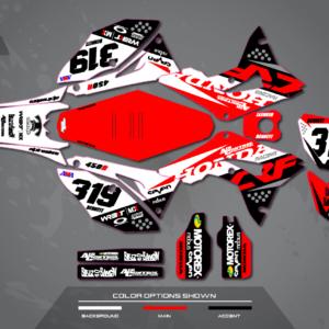 PODIUM HONDA | Primal X Motorsports | Motocross Graphics ...