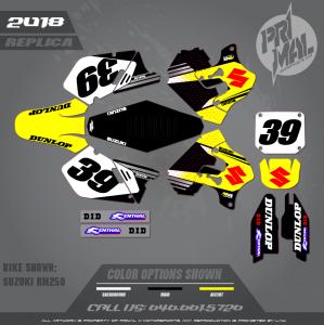 PRIMAL X MOTORSPORTS - SUZUKI REPLICA - Jeremy Hoyer