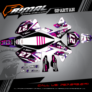 Primal X Motorsports - MX Graphics - GULLY G BIKELIFE