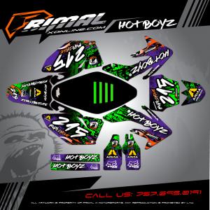 Primal X Motorsports - MX Graphics - 209 CRF250 bikelife phillybikelife mxdecals