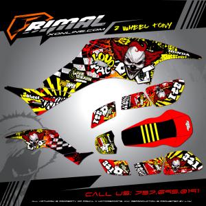Primal X Motorsports - MX Graphics - 400EX HONDA GRAPHICS bikelife Motocross Graphics PRIMAL X MX GRAPHICS