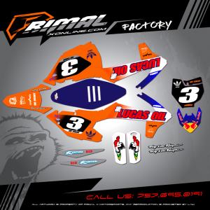 Primal X Motorsports - MX Graphics - KTM  GRAPHICS bikelife Motocross Graphics PRIMAL X MX GRAPHICS LUCAS OIL