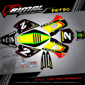 Primal X Motorsports - MX Graphics - KX85 KX100 KX125 KX250 GRAPHICS bikelife Motocross Graphics PRIMAL X MX GRAPHICS Pro Circuit
