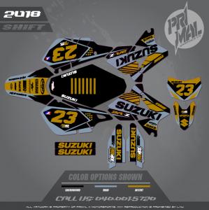 SUZUKI DRZ400SM MOTOCROSS GRAPHICS ATV MX GRAPHICS PRIMAL X MOTORSPORTS ATV GRAPHICS SHIFT
